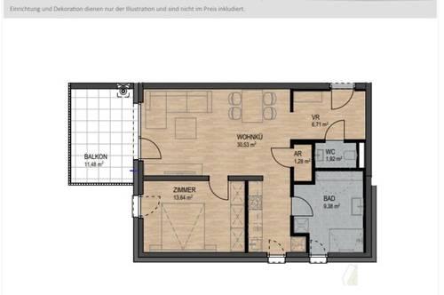 Attraktive Eigentumswohnung in modernem Wohnhaus!
