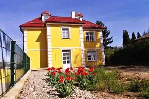 ! Schlüsselfertiges 6-Zimmer Einfamilienhaus gekuppelt - Nahe den Donauen