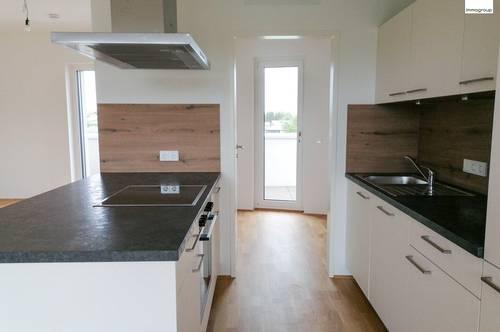 PENTHOUSE! Lichterfüllte Neubau-Wohnung mit schicker Wohnküche & großer Terrasse!