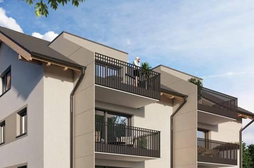 Erstbezug: Traumhafte 2 Zimmer Wohnung in Grünlage