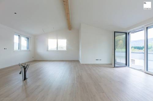 Sensationelle Dachgeschoss Mietwohnung mit Seeblick in Mondsee!