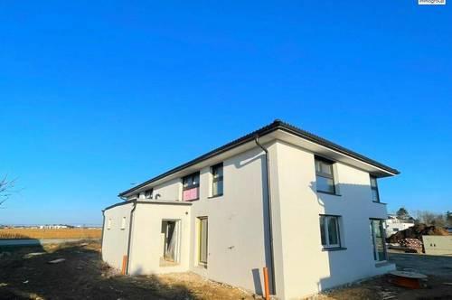 """Sonnige Doppelhaushälfte - """"Belagsfertig"""" - 126m² WNFl.- Ziegelbau auf Eigengrund - Gänserndorf Süd"""