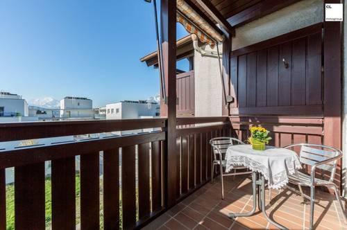 Helle, freundliche 3 Zimmer Dachgeschosswohnung in ruhiger Lage in Salzburg Aigen zu mieten