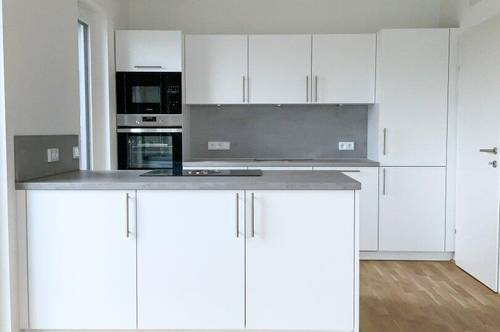 !!!PENTHOUSE-WOHNUNG!!! Großzügig geplante Wohnräume, moderne offene Wohnküche, große Sonnenterrasse, Tiefgarage!