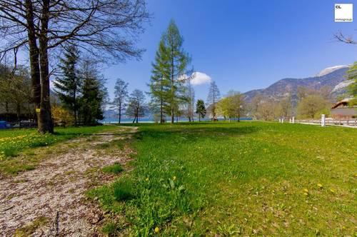Entzückender Badeplatz mit direktem Zugang zum Wolfgangsee!