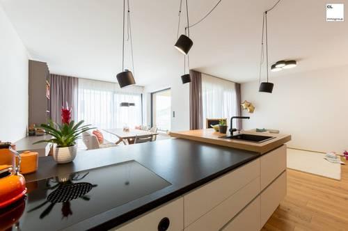 Sehr exklusive Gartenwohnung mit ca. 180 m² auf einer Ebene!