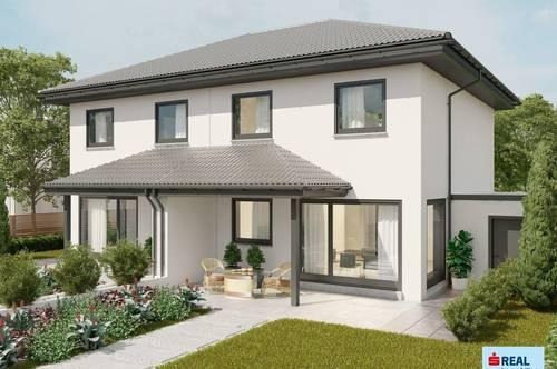 Neubau-Erstbezug: Doppelhaushälfte in Fussach