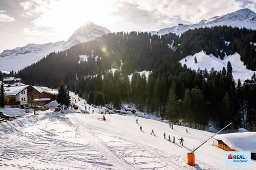 Apartment inmitten eines Skigebiets !