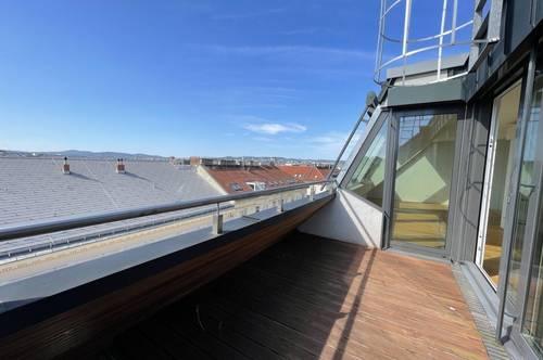 Luxus über den Dächern! 2 Terrassen und hochwertige Ausstattung mit Weitblick!