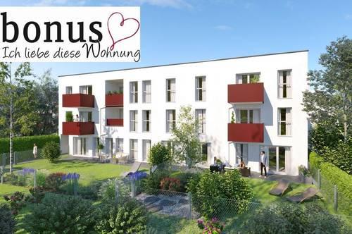 Mehr Ruhe und Freiheit: 2-Zimmer Gartenwohnung mit Terrasse, Eigengarten und Parkplatz. Provisionsfrei!