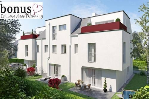 Wohntraum Reihenhaus: 131m² Wohnfläche, Vollunterkellerung und Eigengrund. Inklusive Dachterrasse und Parkplatz. Prov.frei!