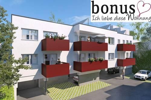 Provisionsfrei: schlüsselfertige 1-Zimmer Wohnung mit Balkon und Parkplatz in Baden-Zentrum.