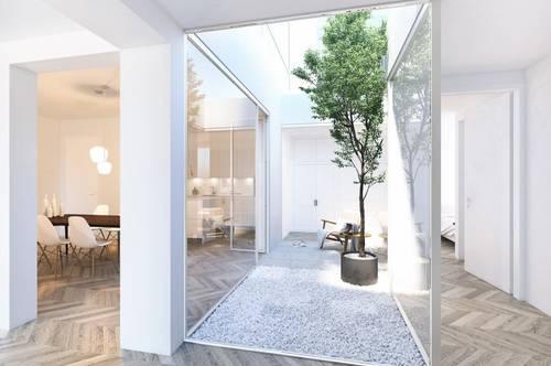 Stilvolle Atrium-Wohnung in der Salzburger Altstadt