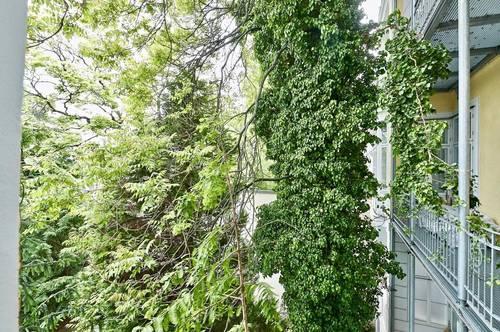 Bestlage nahe Wertheimsteinpark! Repräsentatives 4-Zimmer-Stilaltbau-Apartment mit Terrasse