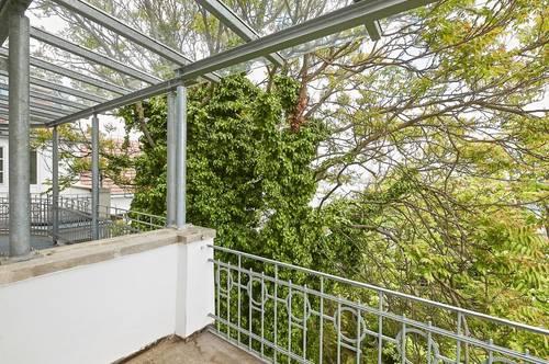 Bestlage beim Wertheimsteinpark! Repräsentatives 4-Zimmer-Stilaltbau-Apartment mit zwei Terrassen