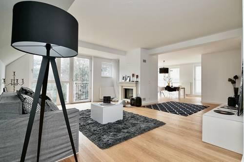 Erstbezug in Gersthofer Bestlage! Luxuriöses Terrassen-Penthouse mit Balkonen und Tiefgaragenplatz