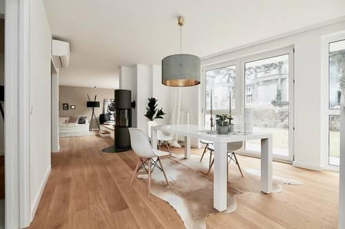 Erstbezug in Gersthofer Bestlage! 5-Zimmer-Luxus-Gartenwohnung mit optionalem Tiefgaragenplatz