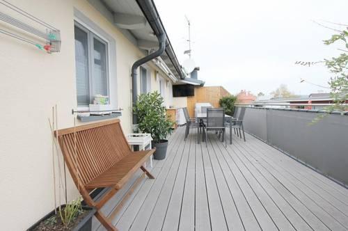 Tolle 2,5-Zimmer-Dachterrassenwohnung mit herrlichem Ausblick in Maxglan