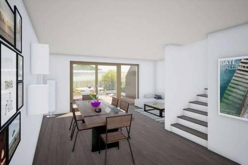 Großzügige Terrassen-Maisonette im Reihenhausstil in Seekirchen, in Vorbereitung