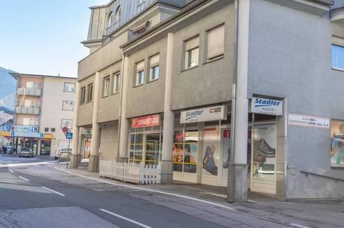 ANLAGEOBJEKT - Stadtzentrum Wörgl - 5 % Mietrendite - Vermietete Geschäftseinheit zu Verkaufen