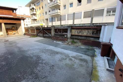 Preisänderung: Stadtzentrum Wörgl: Abstellplatz zu Vermieten