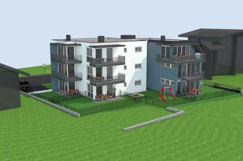 Neubauprojekt Salzburger Straße 75: Gartenwohnung Top 03 mit 60,60 m² zu verkaufen