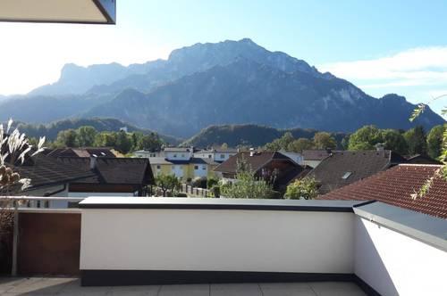 exklusive Dachterrassenwohnung in Rif/Hallein
