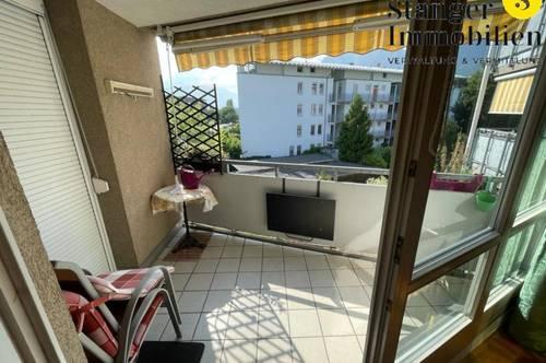 Ab sofort: Möblierte 2-Zimmer-Wohnung mit Balkon und TG-Abstellplatz!