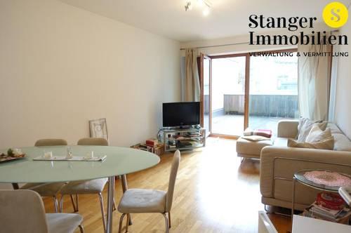 Terrassentraum: Praktisch geschnittene 2-Zimmer-Wohnung mitten in Innsbruck - frei ab sofort!