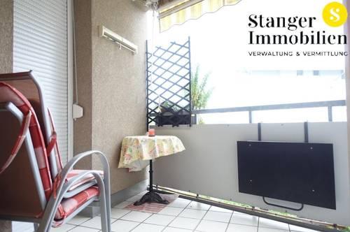 Höttinger Au - 2-Zimmer-Wohnung mit Balkon und TG-Abstellplatz