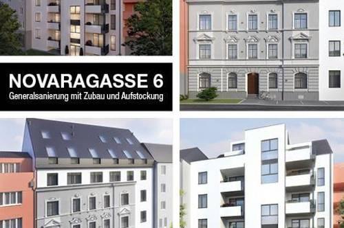 """Novaragasse 6   Aufstockung   Historisches Stadthaus """"Bruckmüller"""""""