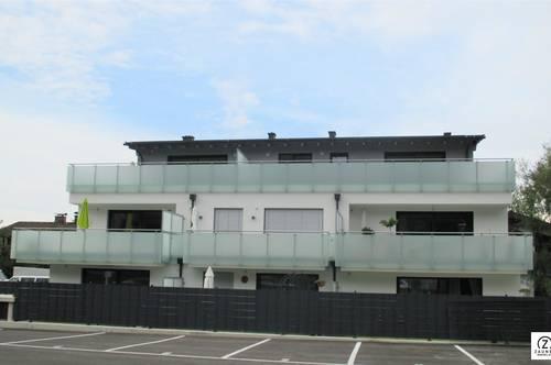 Neubau! Exquisite 3-Zi.-Penthousewohnung mit 30 m²-Sonnenterrasse in Neualm