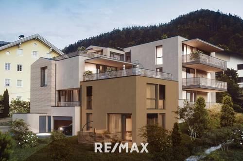 Sixthsense Schwaz - NEUBAUPROJEKT green foot Top 2- exklusive 4-Zimmer-Gartenwohnung