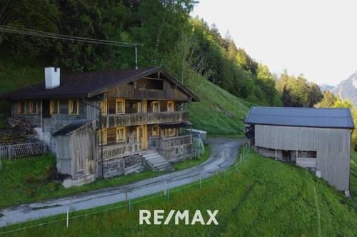 Idyllischer Bauernhof im Zillertal