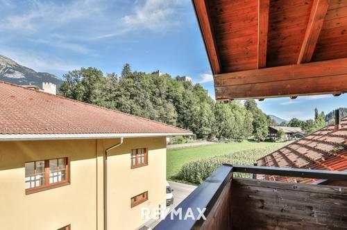 Ruhe und Geborgenheit in 3-Zimmer-Dachgeschoßwohnung mit Loggia und Balkon