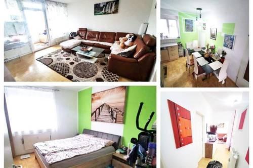 Pichling/Solar City (2) - Schöne Wohnung mit Balkon und Tiefgaragenplatz
