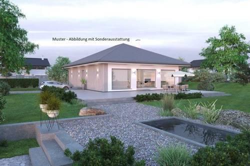 Eferding - Schöner ELK-Bungalow und Grundstück (Wohnfläche - 104m² & 120m² möglich)