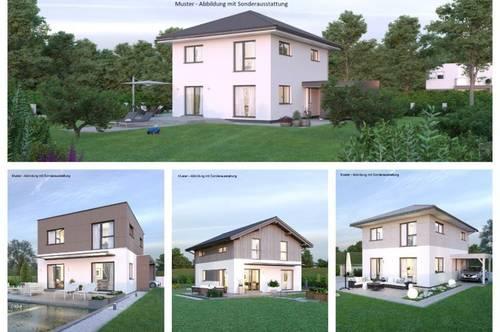 Kerschdorf/Nahe Velden - Schönes ELK-Haus und Hanggrundstück mit Aussicht (Wohnfläche - 117m² - 129m² & 143m² möglich)