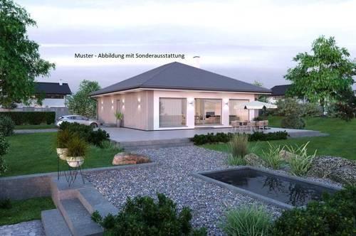 Hermagor - Schöner ELK-Bungalow und Grundstück mit Alpenblick (Wohnfläche - 104m² & 120m² möglich)