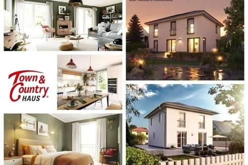 Nahe Gänserndorf - Schlüsselfertiges TC-Ziegelmassivhaus mit Fußbodenheizung und Grundstück