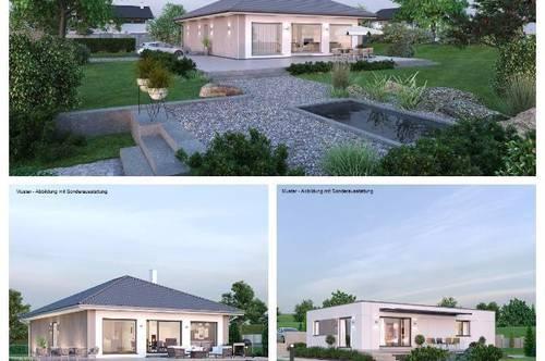 Litschau - Schöner ELK-Bungalow und Grundstück (Wohnfläche - 104m² & 120m² möglich)