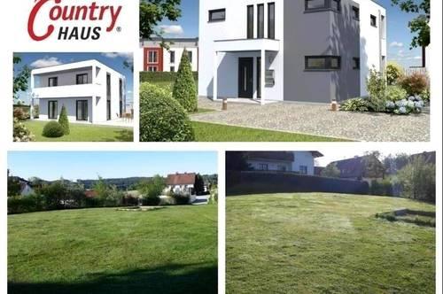 Randlage Münzkirchen - Schlüsselfertiges TC-Ziegelmassivhaus und Grundstück