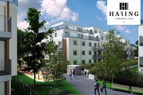 2-Zimmer-Wohnung Erstbezug inkl Komplettküche, 12,76m² Balkon Außenfläche und Kellerabteil //KP26 1-19