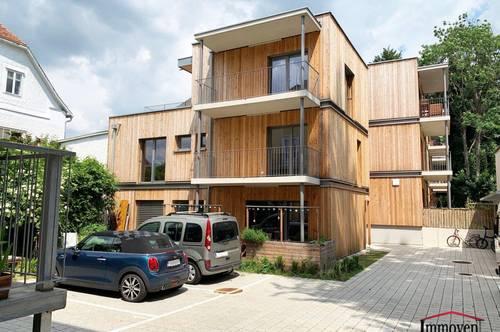 Ökologischer Neubau aus Holz! Hochwertige Maisonettewohnung - nahe des Universitätszentrums!