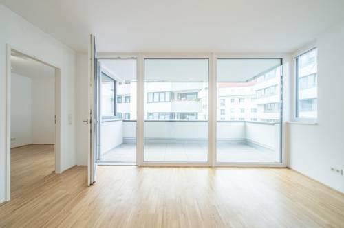 2-Zimmer Wohnung mit Loggia und hochwertiger Ausstattung ab 01.11 beziehbar