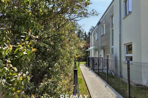 ERSTBEZUG! - Doppelhaushälfte bezugsfertig 15 km von Wien: Eigengarten, tolles Design, Niedrigenergie, 2 Autostellplätze