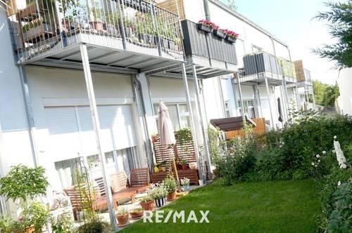 #Anlegerwohnung# 2 Zimmer mit Garten