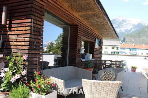Zirl: 3-Zimmer Maisonettewohnung mit großer Terrasse und Rundumblick