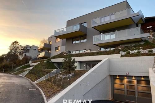 NEUBAU - Außergewöhnliches Wohnen mit Kunst! 2-Zi-Wohnung mit Terrasse