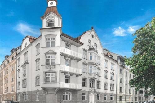 Elegante 2-Zimmer-Wohnung im neu sanierten Schiller-Palais in Saggen - mit Wohnrecht